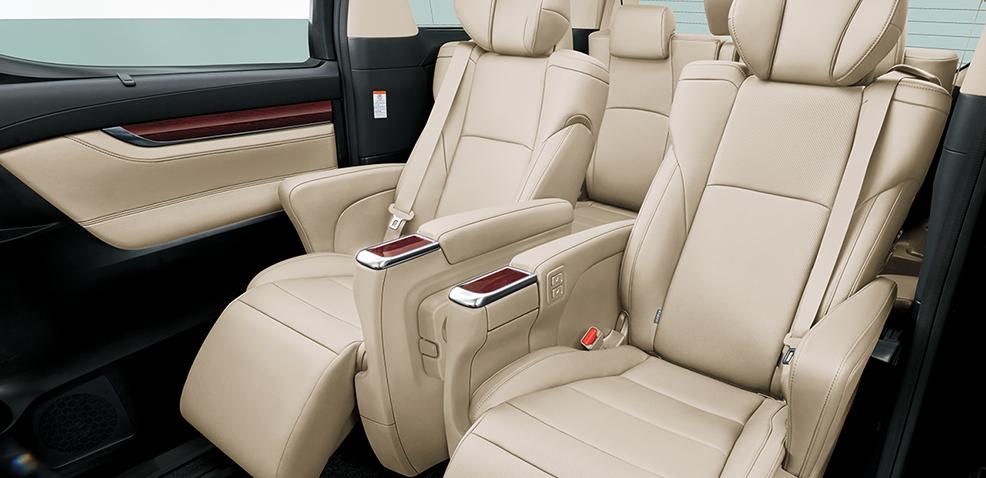 Toyota Alphard 2021 noi that