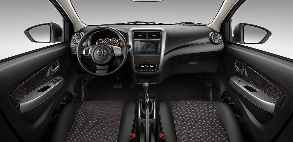 Toyota Wigo 2021 nội thất