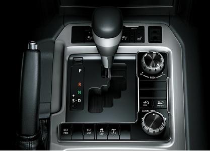 Toyota Land Cruiser hộp số