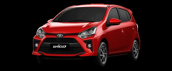 Toyota Wigo 2021 màu đỏ