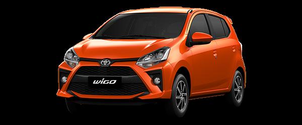 Toyota Wigo 2021 màu cam