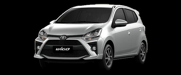 Toyota Wigo 2021 màu bạc