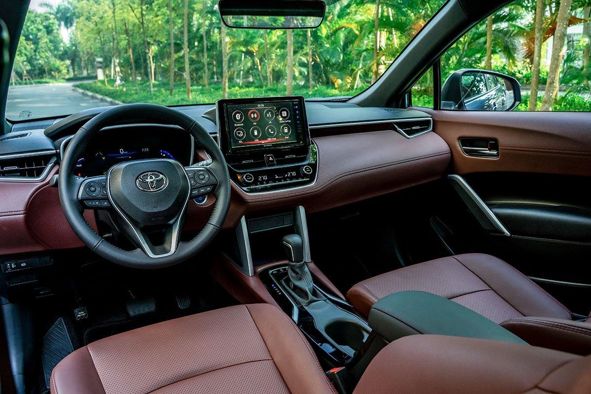 Toyota Cross 2021 nội thất