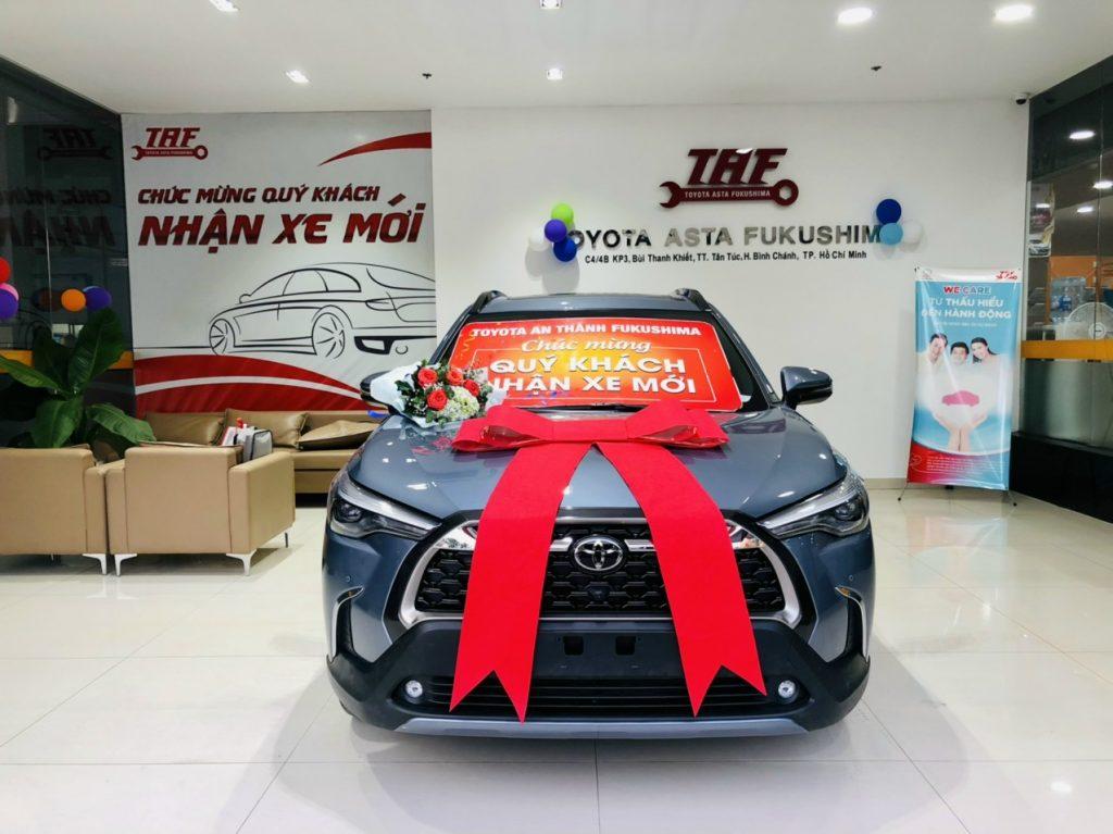 Toyota Cross trả góp
