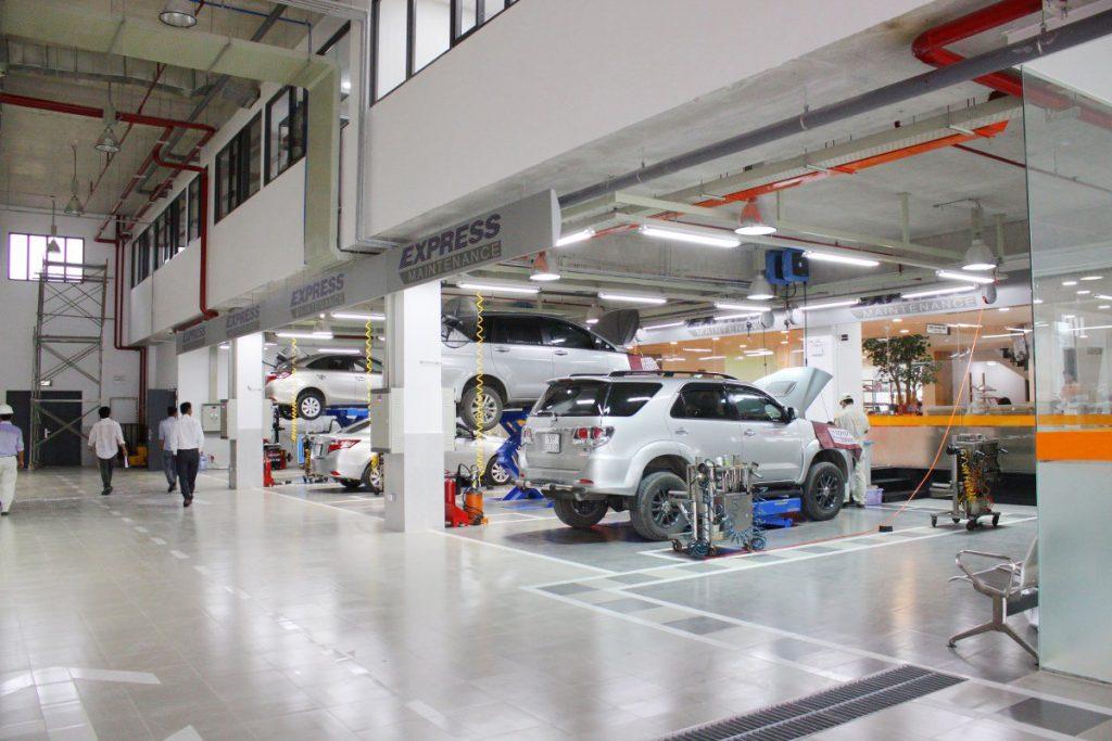 Xưởng bảo dưỡng Toyota An Thành Fukushima