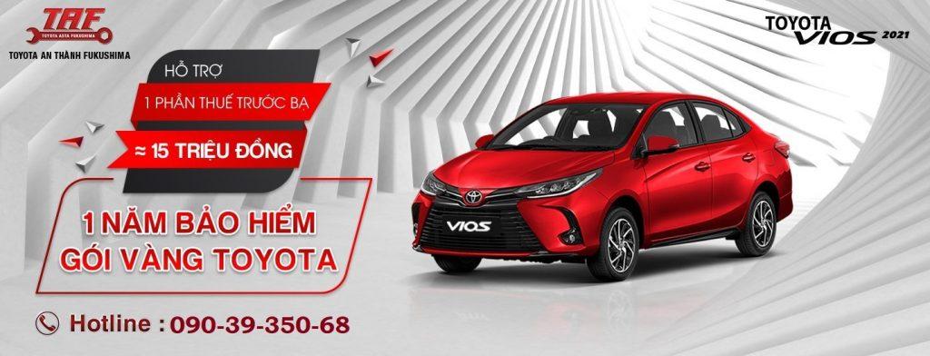 Toyota Vios 2021 khuyến mãi