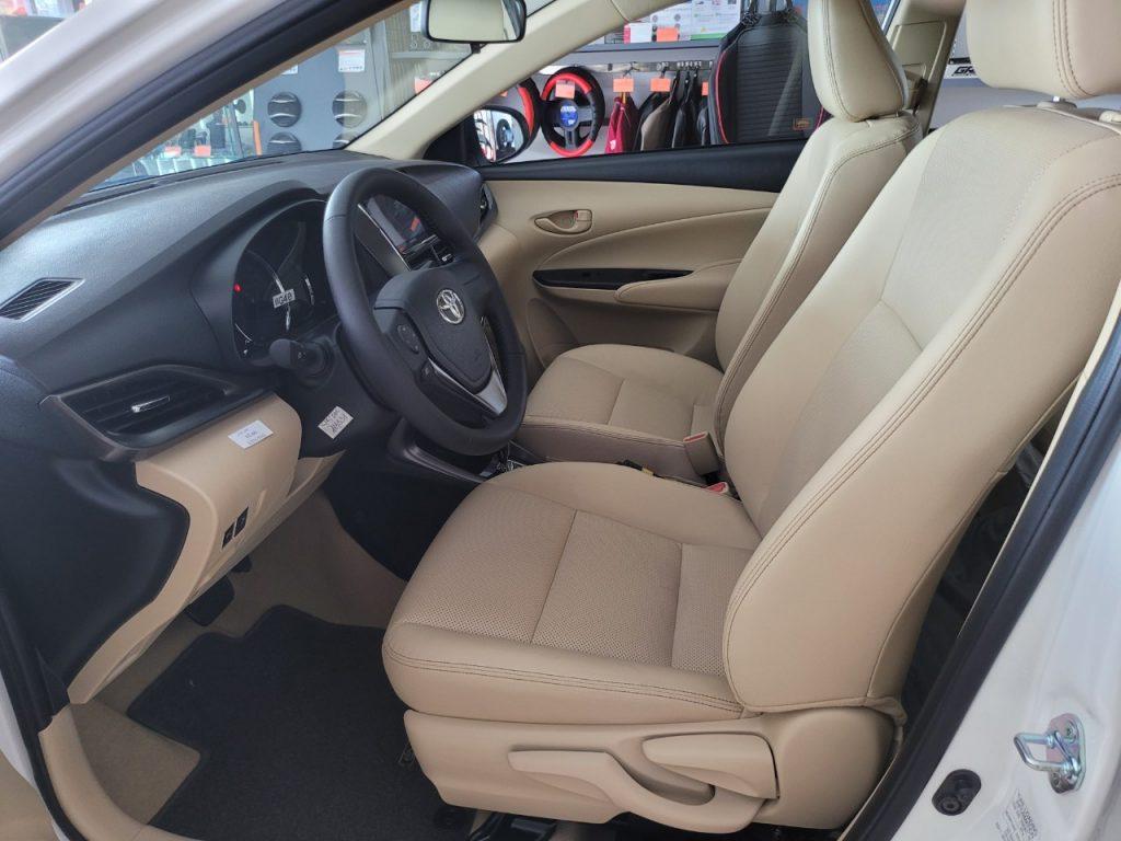 Toyota vios nội thất