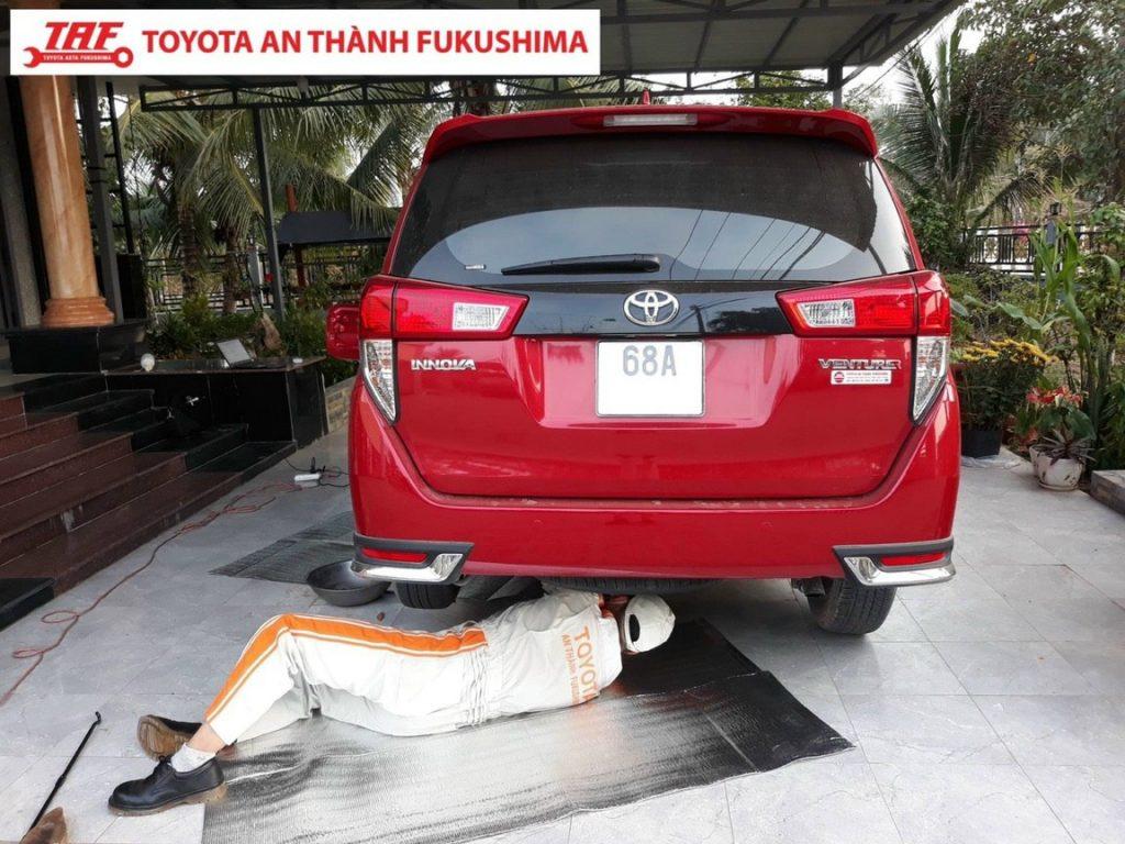 Toyota Bình Chánh bảo dưỡng tận nơi.